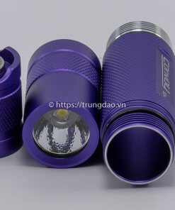 Đèn pin Convoy S2+ (Convoy S2+ purple flashlight front-side)