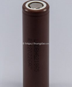 Pin LG HG02 18650 3.7V 3000mAh (LG 18650 HG2 3.7V 3000mAh battery vertical front-side)